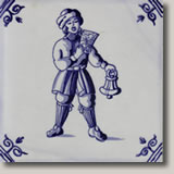 Ceramic Tile for the Genealogy page for Van Alderwerelt